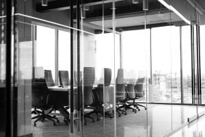 meeting room in commercial property